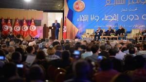 أشغال المؤتمر السابع للرابطة التونسية للدفاع عن حقوق الانسان