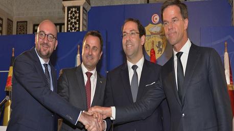 بيان مشترك تونس- دول بلجيكا وهولندا واللكسمبورغ