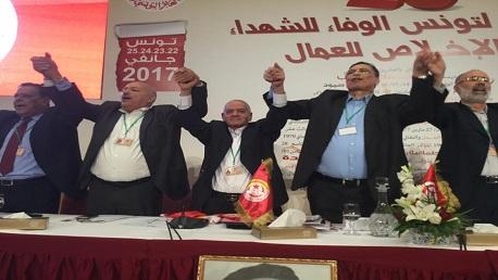 مؤتمر الاتحاد: المصادقة على منع وتجريم التطبيع مع الكيان الصهيوني