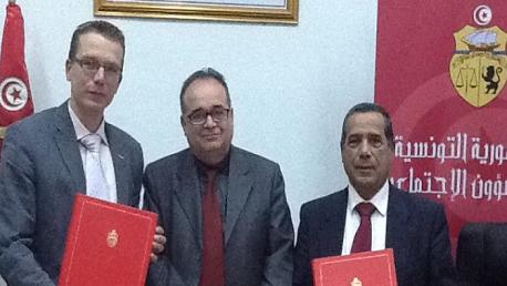 اتفاقية تعاون بين وزارة الشؤون الاجتماعية و جمعية سويدية بتونس