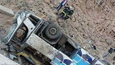 مصر: 10 قتلى و41 مصابا في انقلاب حافلة تقل طلابًا جامعيين بسيناء