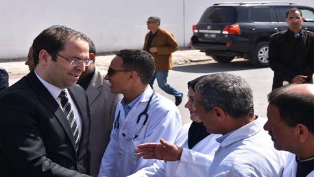 """""""الشاهد"""" يُعلن فتح 3 أقسام جديدة بمستشفى مدنين"""