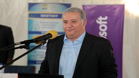 """نائب رئيس شركة """"مايكروسوفت"""" العالمية ورئيس منطقة افريقيا والشرق الأوسط علي فرماوي"""