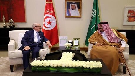 السبسي و الملك سلمان بن عبد العزيز آل سعود