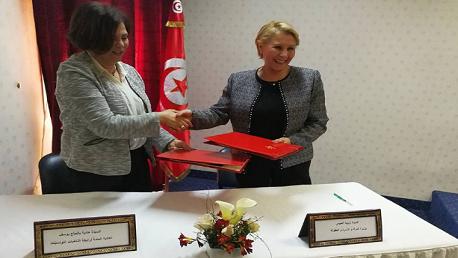 اتفاقية شراكة بين رابطة المرأة الأمنية ووزارة المرأة