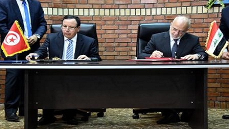 توقيع مذكرة تفاهم للتعاون بين تونس و العراق