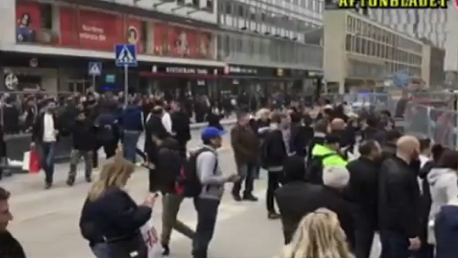ستوكهولم: شاحنة تدهس مجموعة من المارة