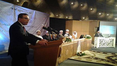افتتاح مسابقة تونس العالمية لحفظ القران الكريم وترتليه الدورة الخامسة عشرة