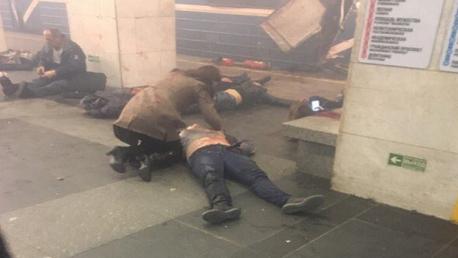 وقوع تفجيرين بمحطة مترو سان بطرسبرغ