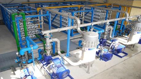 محطة لتحلية مياه البحر