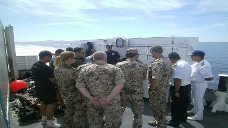 ببنزرت: تدريبات عسكرية تونسية ألمانية