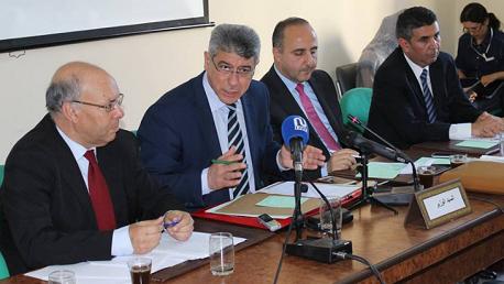 جلسة استماع وزير العدل غازي الجريبي