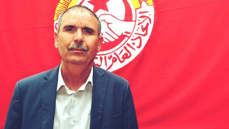 الامين العام للاتحاد العام التونسي للشغل نور الدين الطبوبي