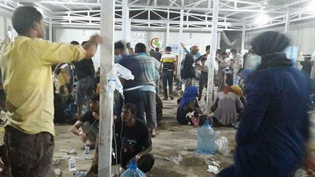 التسمم الغذائي في مخيم الخازر