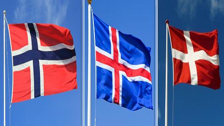 الدنمارك والنرويج وايسلندا
