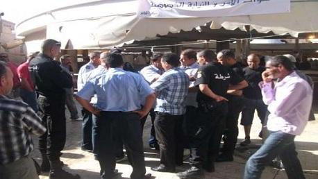 حملة بأنهج وشوارع العاصمة لإزالة الانتصاب الفوضوي