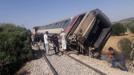حادث قطار تونس-غار الدماء