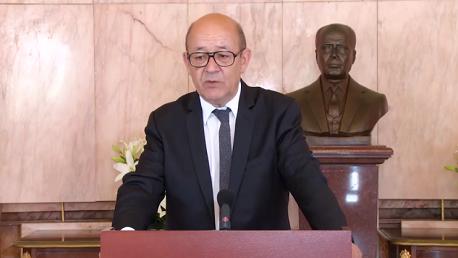 وزير خارجية فرنسا جون ايف لودريان
