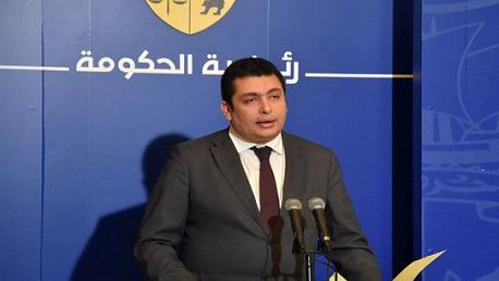 الناطق الرسمي بإسم رئاسة الحكومة إياد الدهماني
