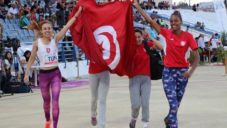 تونس تُحرز 34 ميدالية في البطولة العربية  لألعاب القوى