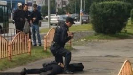 روسيا: عملية طعن بسكين تُخلف 8 مصابين وتصفية المهاجم