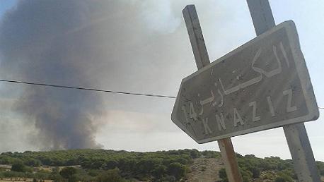 برقو: حرائق جبال الكنازيز