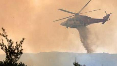 إرسال تعزيزات عسكرية وطائرتان لإطفاء الحرائق بجندوبة