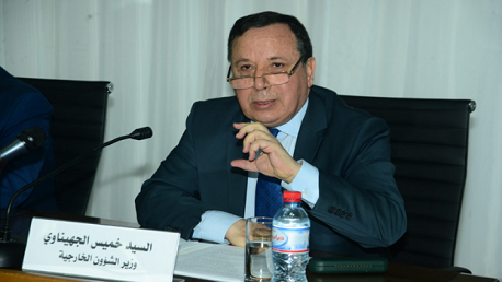 وزير الشؤون الخارجية خيس الجهيناوي