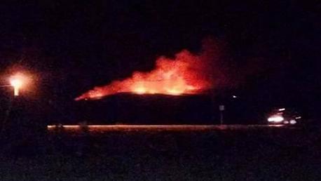 سليانة : السيطرة على حريق جبل همامة
