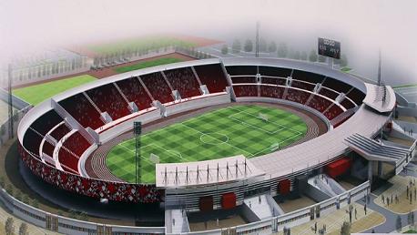مشروع توسعة طاقة استيعاب الملعب