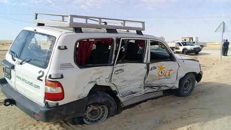 حادث مرور في توزر
