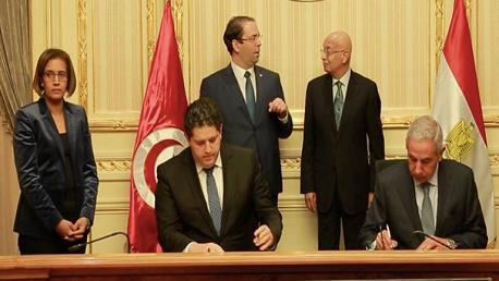 تونس و مصر تتفقان على زيادة حجم التبادل الى 600 مليون دولار