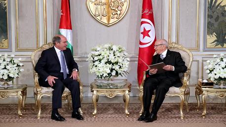 رئيس الجمهورية يتسلّم رسالة خطية من العاهل الأردني