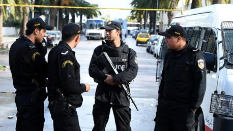 دوريّة أمنيّة تابعة لشرطة المرور بساحة باردو