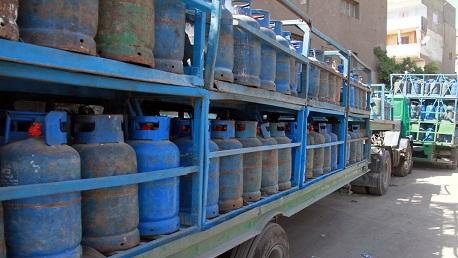 موزعي قوارير الغاز