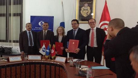 بـ160 مليون أورو: توقيع عقد تمويل مشروعين من البنك الأوروبي لفائدة شركة السكك الحديدية
