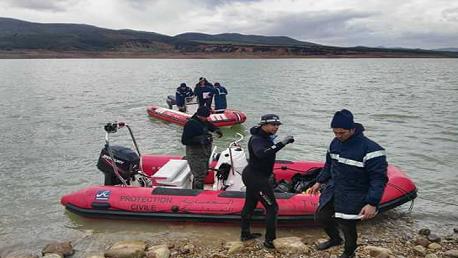 العثور على جثة أحد الصيادين المفقودين بسد سجنان