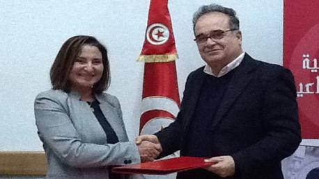 امضاء اتفاقية شراكة بين وزارة الشؤون الاجتماعية و الاتحاد الوطني للمرأة التونسية في مجال محو الأمية و تعليم الكبار