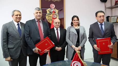 إمضاء اتفاقية شراكة بين الجامعة التونسية لألعاب القوى والوكالة الوطنية للتشغيل والعمل المستقلّ