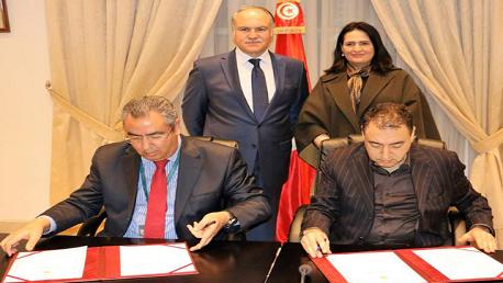 امضاء اتفاقية احداث نوادي رياضة مدرسية لألعاب القوى