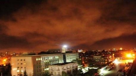 قصف أمريكي فرنسي بريطاني على مناطق بسوريا