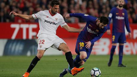 فريق برشلونة  إشبيليا