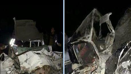 بوشبكة- القصرين: حادث مرور يُودي بحياة 3 أشخاص