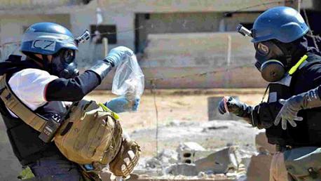 السلاح الكيماوي  سوريا