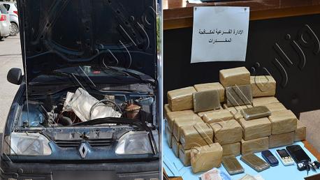 أحدهما تكفيري: القبض على شخصين وحجز 20 كلغ من القنب الهندي بحوزتهما