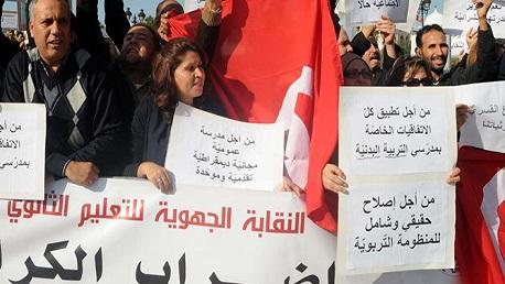 الشاهد يُقرر تأجيل اقتطاع أيام الإضراب لأساتذة الثانوي بعد رمضان
