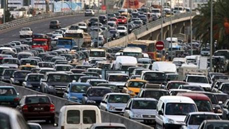 بلاغ مروري للحد من ظاهرة الإكتظاظ المروري بوسط العاصمة