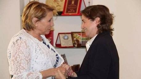 مية الجريبي ووزيرة المرأة