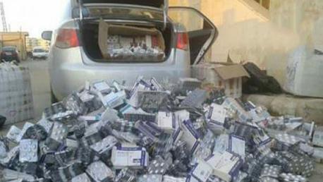 بنقردان - مدنين/ ضبط سيّارة محمّلة بكمية هامة من الأدوية المهرّبة