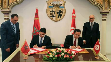 الجهيناوي و وزير الشؤون الخارجية والتعاون الدولي بالمملكة المغربية ناصر بوريطة